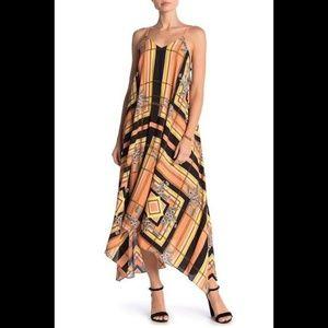 Nanette Lepore Sleeveless V-Neck Maxi Dress 8